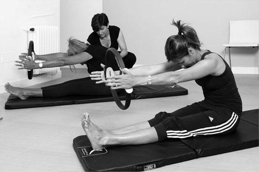 Clases de Pilates Suelo con Aro en Madrid