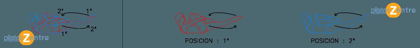 Ejercicios de Pilates Suelo - Estiramiento simple de piernas