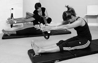 Ejercicios de Pilates Suelo con Aro