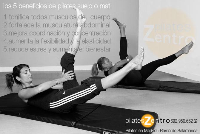 Dos mujeres haciendo Pilates Suelo y disfrutando de sus Beneficios