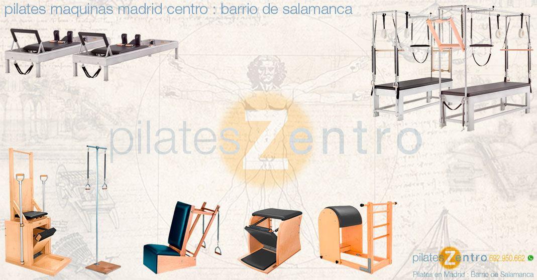 Pilates Maquinas en Madrid Centro : Barrio de Salamanca