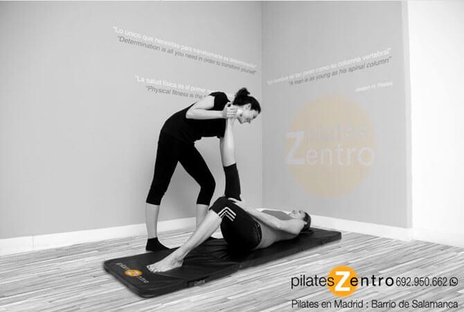 Pilates Terapéutico realizado por Fisioterapeuta