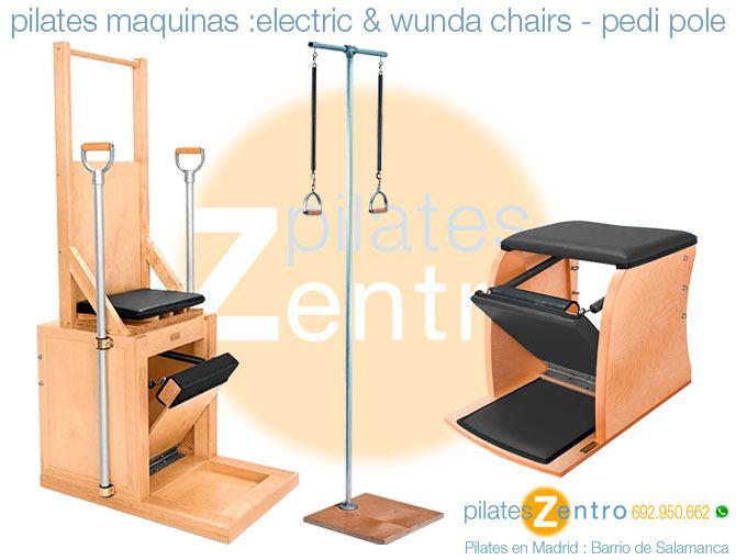 Sillas Pilates : Wunda y Silla Electrica