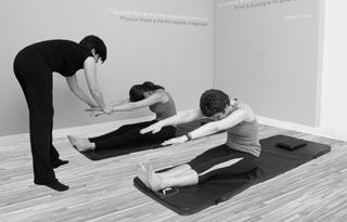 Tabla Ejerccios Pilates Madrid
