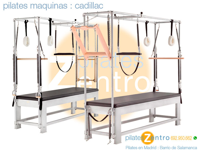 Pilates Cadillac - Pilates Maquinas Madrid